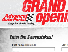 Advance Auto Parts Microsites
