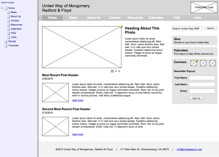 United-Way-NRV_wireframes-home